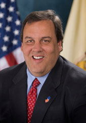 Chris Christie official portrait 2013