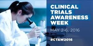Clinical Trials Awareness Week 206
