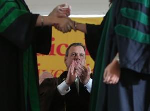 Governor Christie 1st Cooper Med Grad