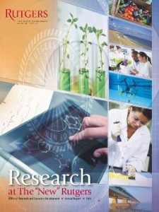Rutgers Research Report 2015 published 2016 - SMALL