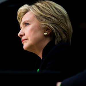 Hillary Clinton nyt black back