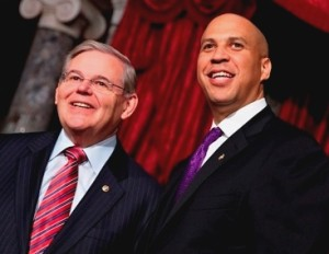 Senators Robert Menendez  and Cory Booker